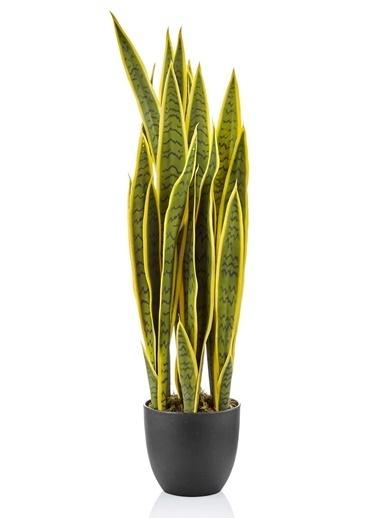 The Mia Yapay Sansevieria 90x30 Cm Yeşil